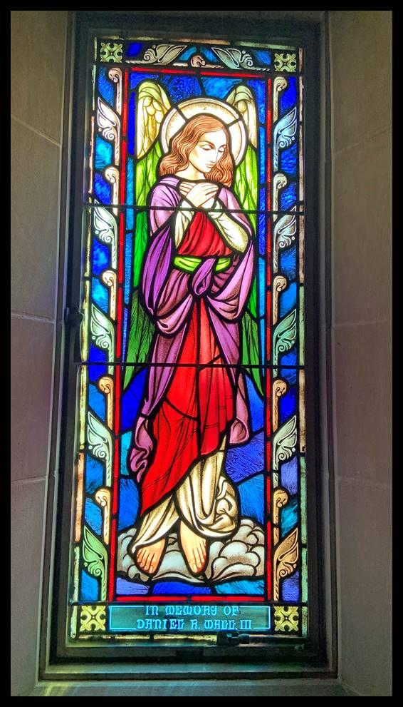 Angel Statue at St. Thomas Aquinas