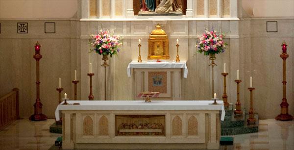 Altar Flower Donation | St  Thomas Aquinas Catholic Church