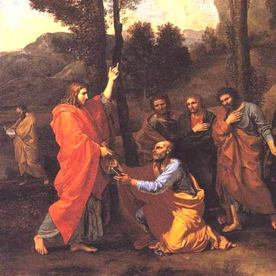 Ordination - Nicolas Poussin - 1640 - Kimbell Art Museum, Ft. Worth