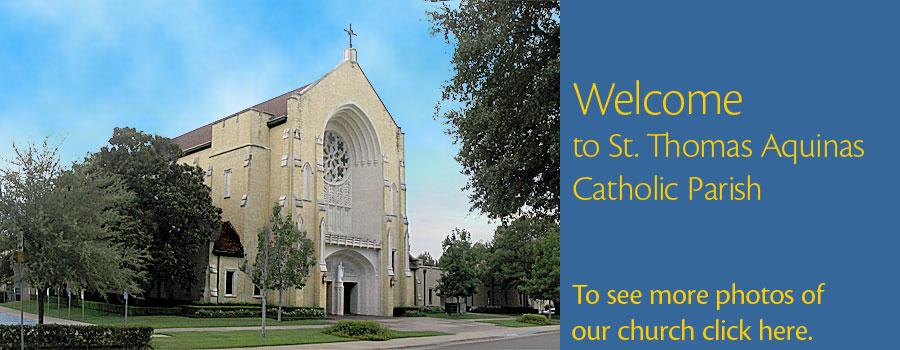 Catholic Parish in East Dallas   St  Thomas Aquinas Catholic