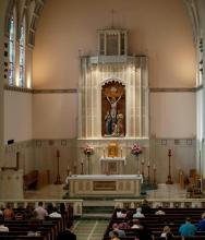 St. Thomas Aquinas - The Chancel - Photo by Ron St. Angelo